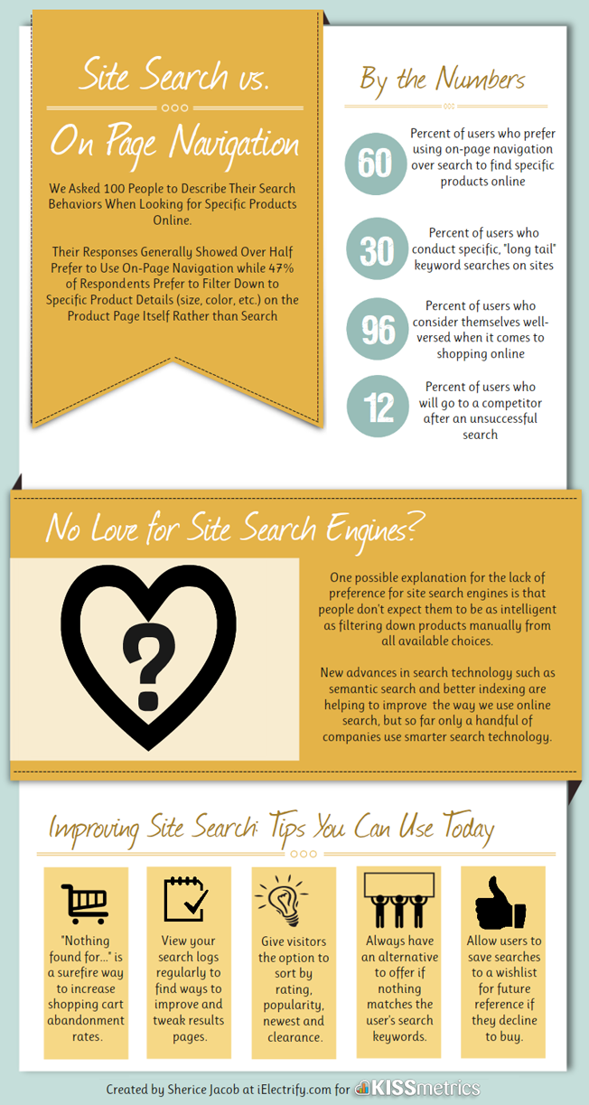 kissmetrics search survey infographic