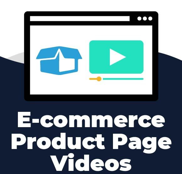 E-commerce product page videos