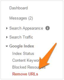 google-remove-urls
