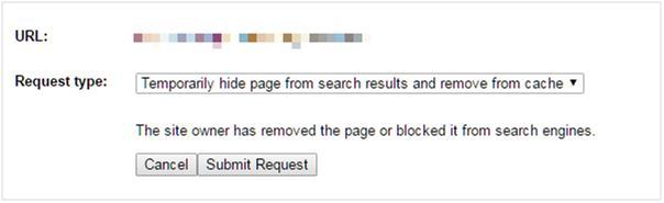 google-submit-url-request