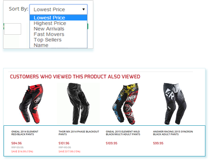 Using Dynamic Product Recommendations in Order to Increase Sales