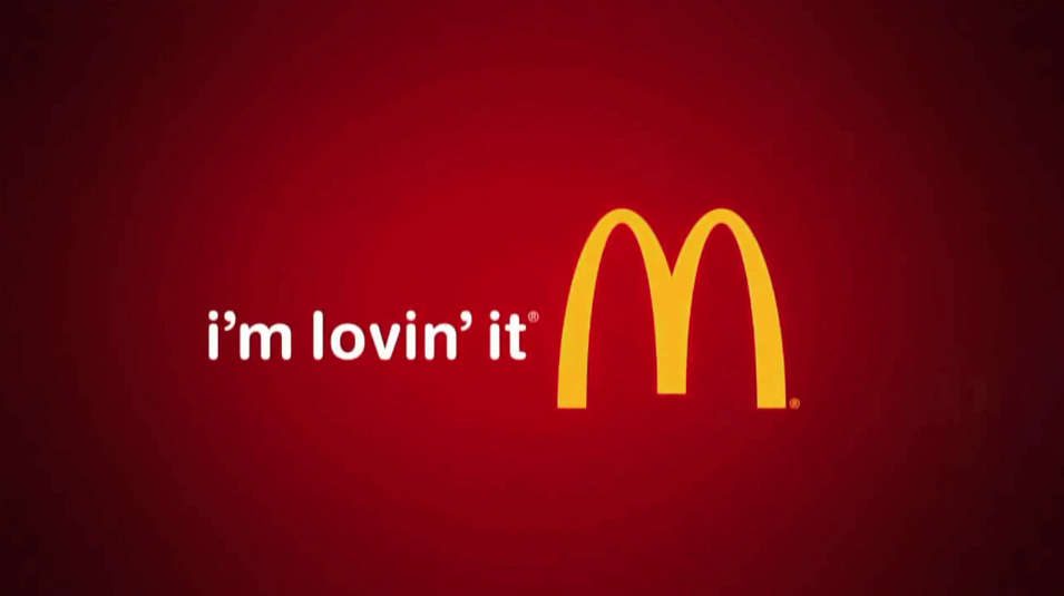mcdonald's logo and slogan