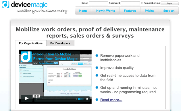 Device Magic A/B Testing Slider and Video
